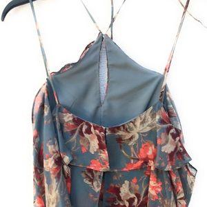 INTERMIX Dresses - Intermix Silk Floral Maxi Dress